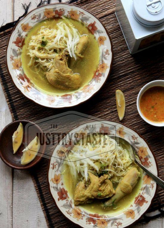 Resep Soto Ayam Kampung A La Mbak Ayu Masakan Resep Ayam Resep Makanan
