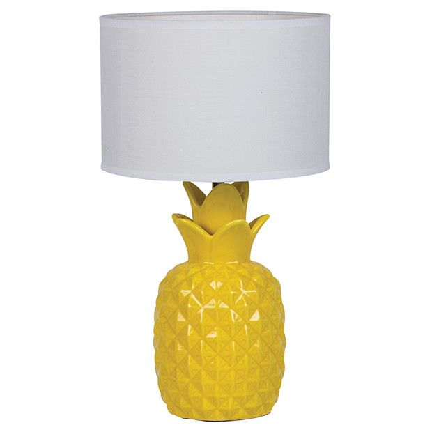 Cool Bedroom Lamps Target Pineapple Ceramic Table Lamp Plus Nightstand  Source