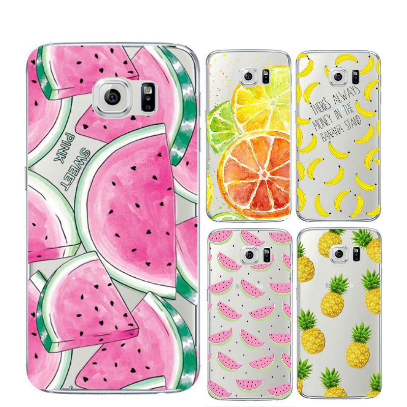 02e060ddb02 Encontrar Más Del teléfono bolsos y estuches Información acerca de Fruta Ultra  delgado suave del Gel de TPU transparente cristalina del silicio del  teléfono ...