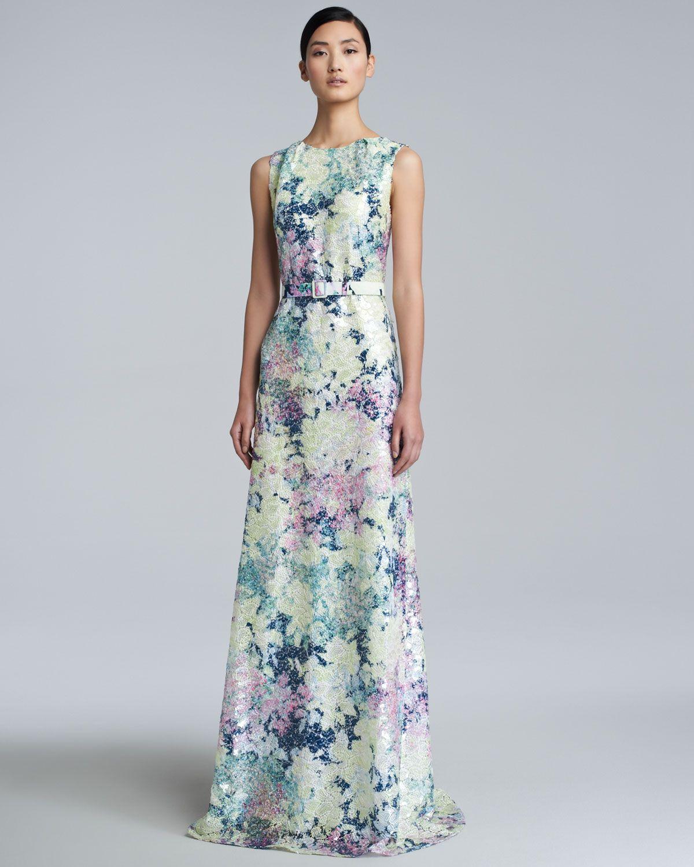 Erdem Jane Long Floral-Print Dress - Neiman Marcus | clothes | Pinterest