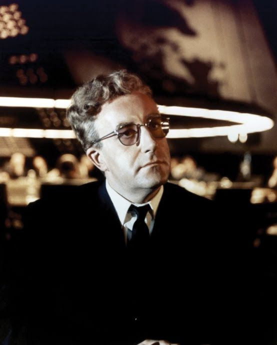 Peter Sellers As Dr Strangelove In Dr Strangelove Or: Dr Strangelove, Peter Sellers In A Film Directed By
