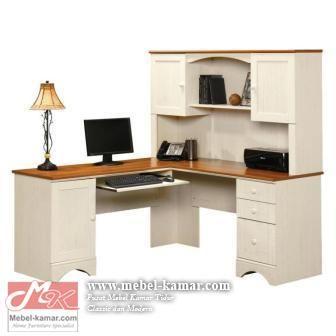Meja Kantor Minimalis Warna Putih Model L Dan Pusat Produksi Meja Kantor Modern Meja Kerja Meja Direktur Meja Kantor Meja Desain