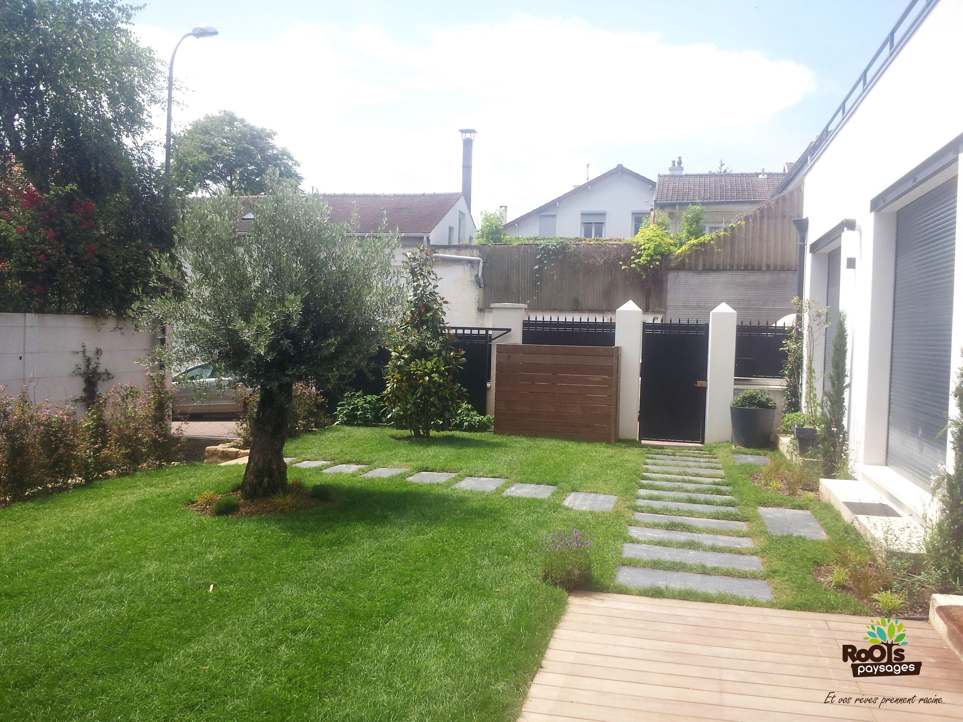 Am nagement de jardin saintcloud 92 cachepoubelle for Amenagement jardin olivier