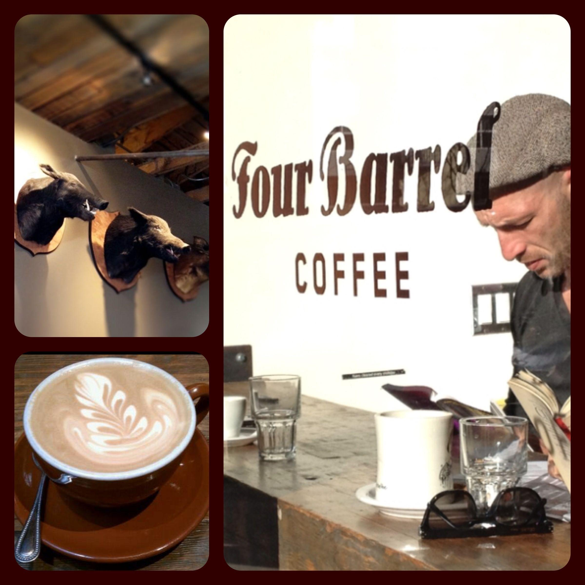 Best coffee houses in san francisco four barrel coffee