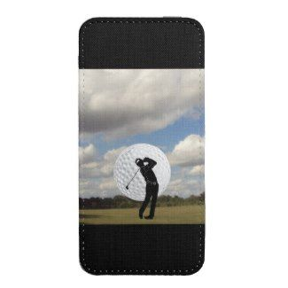 Golfers Theme Smart Phone Pouch