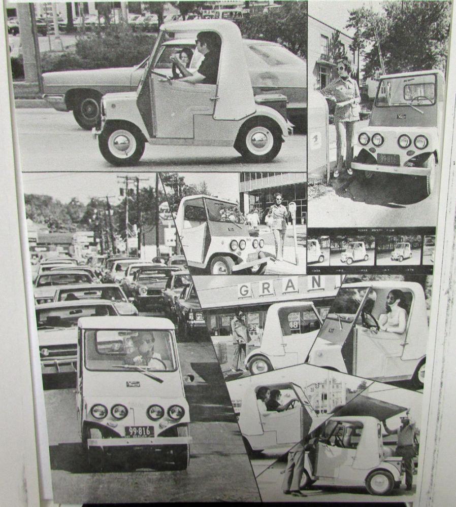 1974 Sebring Vanguard Electric Vehicle CitiCar Sport Coupe Dealer ...