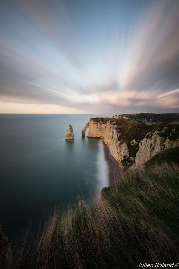Sunset on Etretat 2 by Julien Roland on 500px