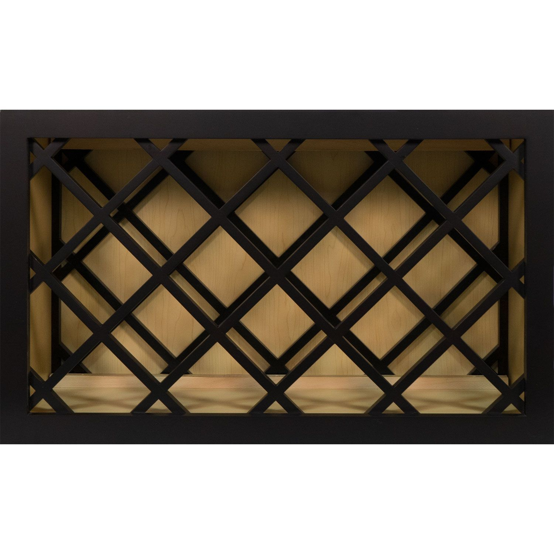 30 Inch Wine Rack Cabinet in Shaker Espresso 30