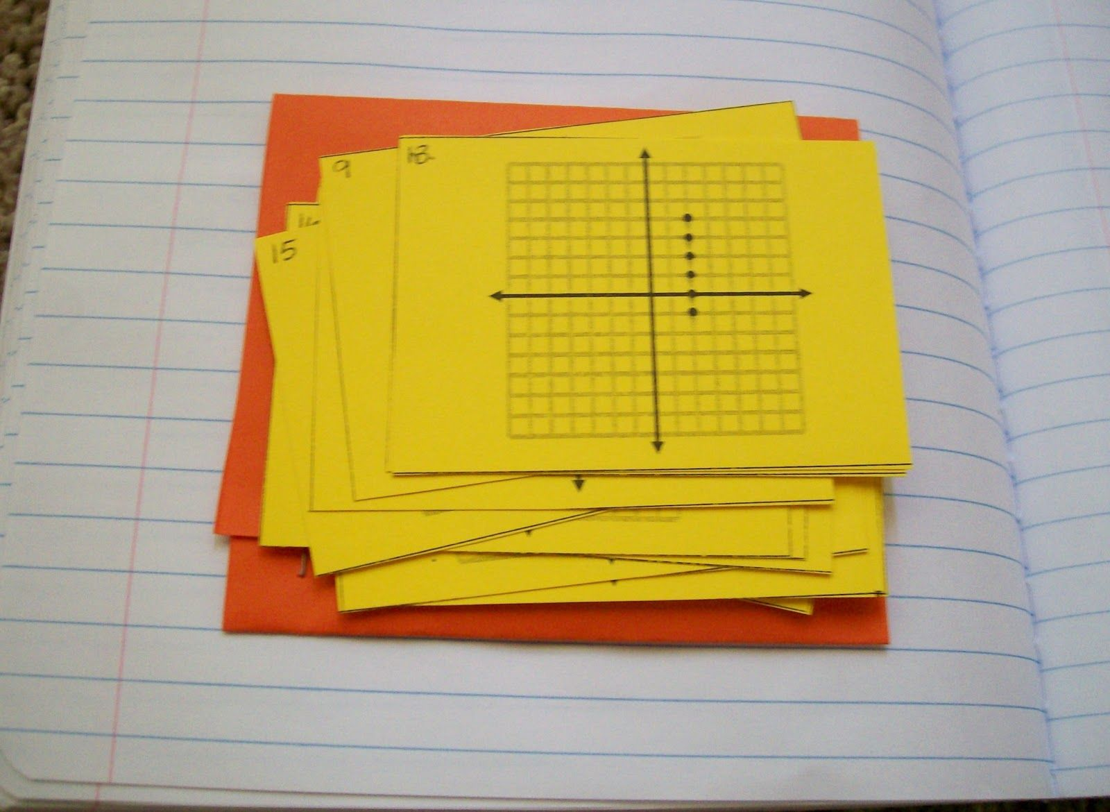 Math Love Algebra 2 Describing Graphs Unit Domain Range