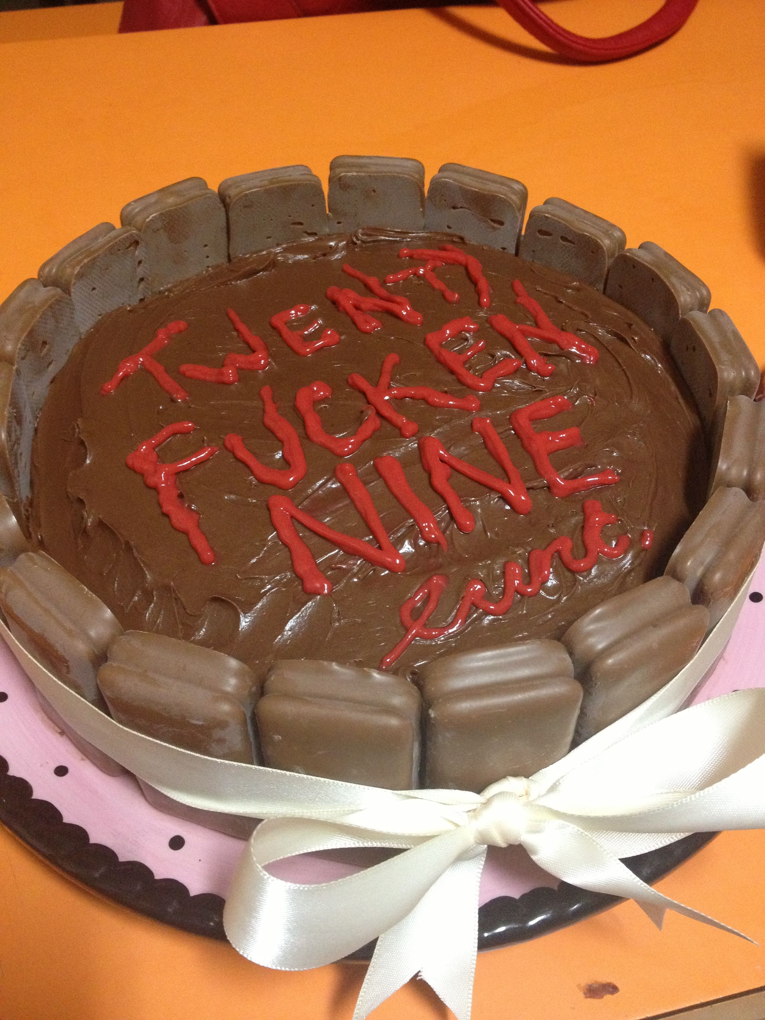 Rude birthday cake Terrible Cakes Pinterest Birthday cakes