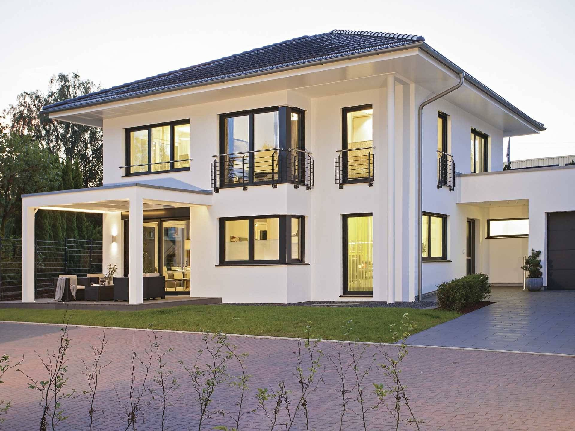 Wundervoll ... Walmdach, Hausbau, Beispiel, Schön, Modern, Interessant, Stil