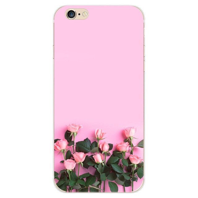 Colorful Floral Silicon Back Cover Phone Case Pink Wallpaper Iphone Flower Wallpaper Flower Backgrounds