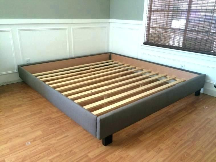 Image Result For Platform Bed Without Headboard King With Images