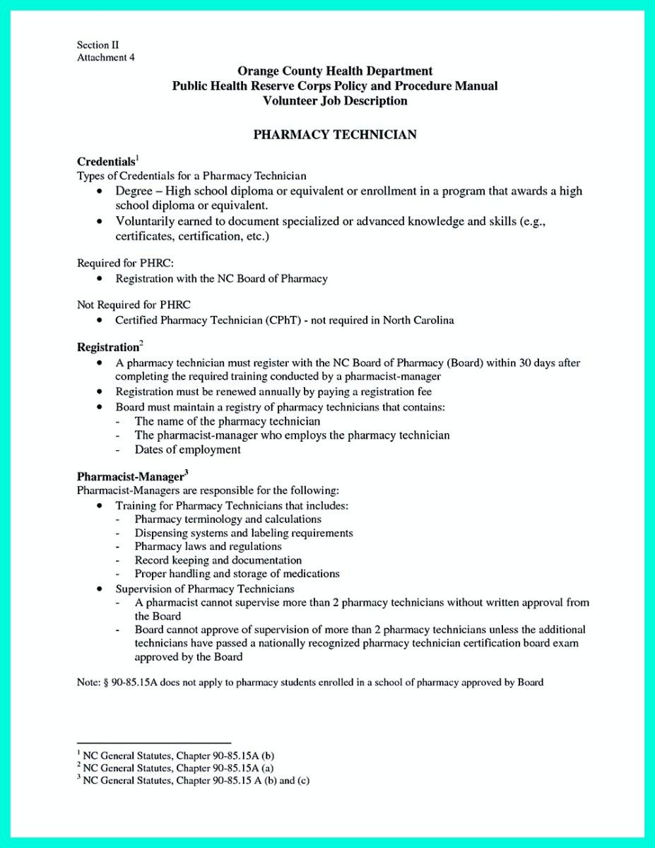 what objectives to mention in certified pharmacy technician resume - Certified Pharmacy Technician Resume