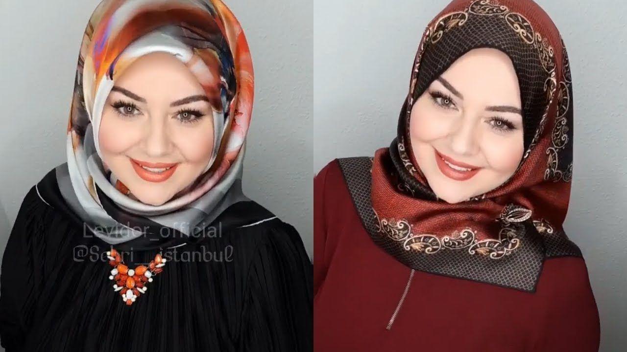 طريقة لف الحجاب التركي 2019 Turkish Hijab Part 5 Fashion Hijab Abaya