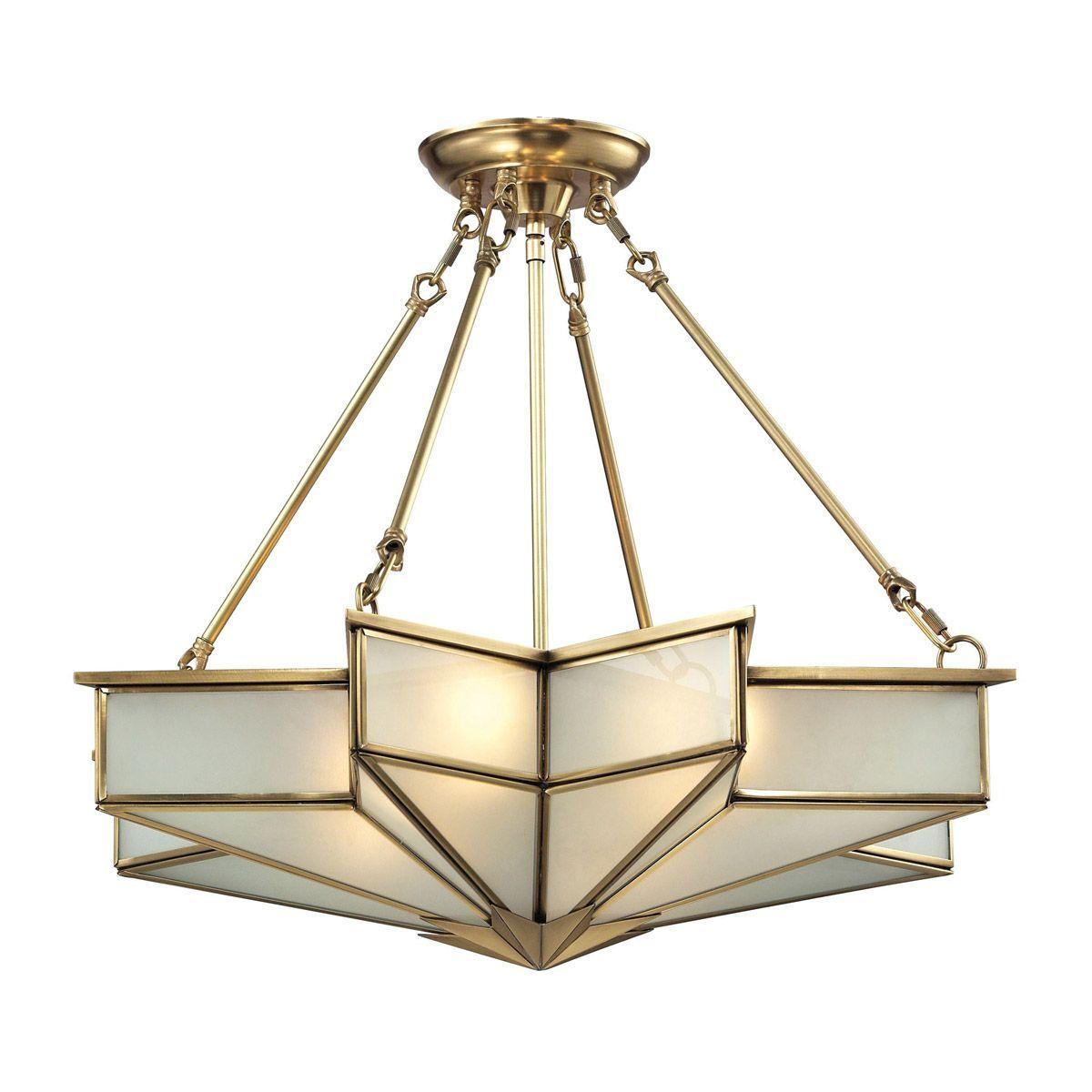 Elk 22012 4 The Best Selling Art Deco Lights On The Market Today Stacked Ball Acrylic Art De Art Deco Pendant Light Art Deco Lighting Art Deco Light Fixture