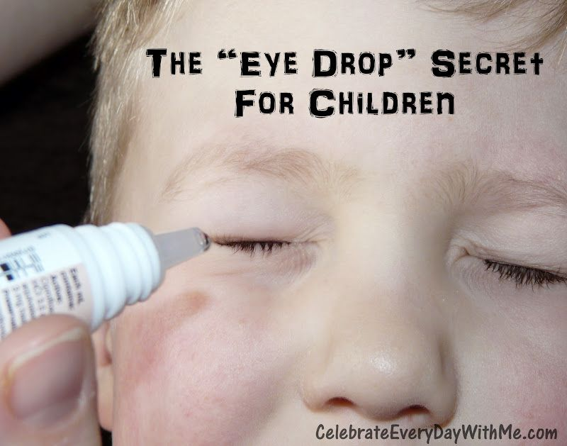 The Secret To Giving Your Child Eye Drops Child Life Specialist