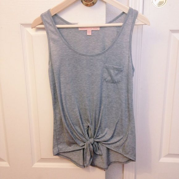 Gray Tank Top Perfect condition, worn once. Gray color. Macy's Tops Tank Tops