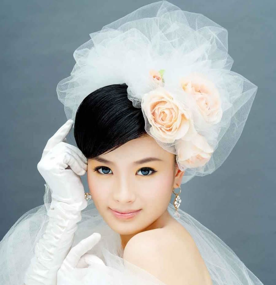 japanese wedding hairstyle, wedding hairstyles for short