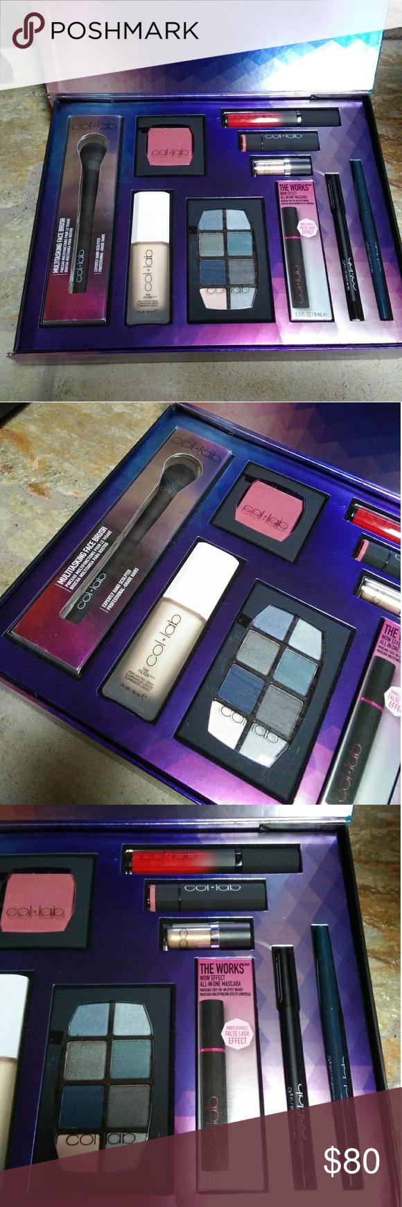 Col lab beauty 10 piece makeup gift set Makeup gift sets