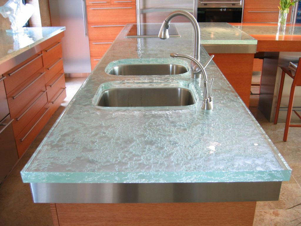 this very popular image is actually the first kitchen countertop sold by thinkglass - Kitchen Sinks And Countertops