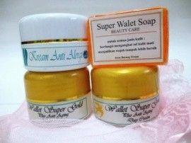 Cream Walet Gold merupakan paket pemutih dan perawatan ...