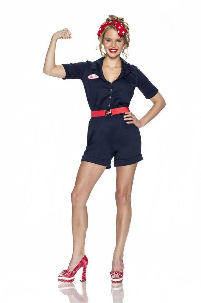 rosie the riveter sexy costume