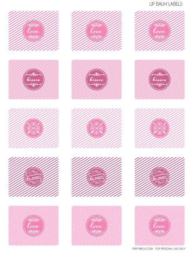 It's just a graphic of Peaceful Printable Lip Balm Labels