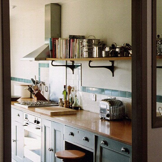 Cottage Galley Kitchen Kitchen Design Decorating Ideas Ideal Home Kitchen Design Kitchen Furnishings Small Cottage Kitchen