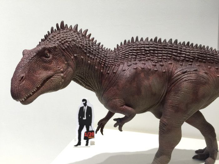 Acrocanthosaurus(scale1/20): by Mountain's Animal Studio  - Lu Feng Shan