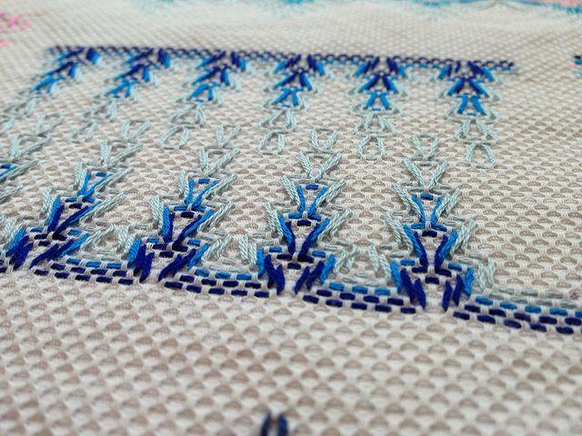 Huck Weaving Sampler by gotthebutton | silvia | Pinterest | Bordado ...