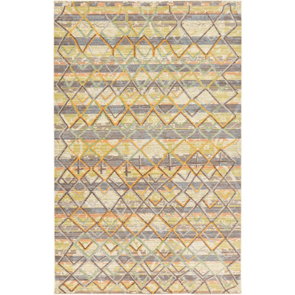 Aria Gold 5 ft. x 8 ft. Area Rug