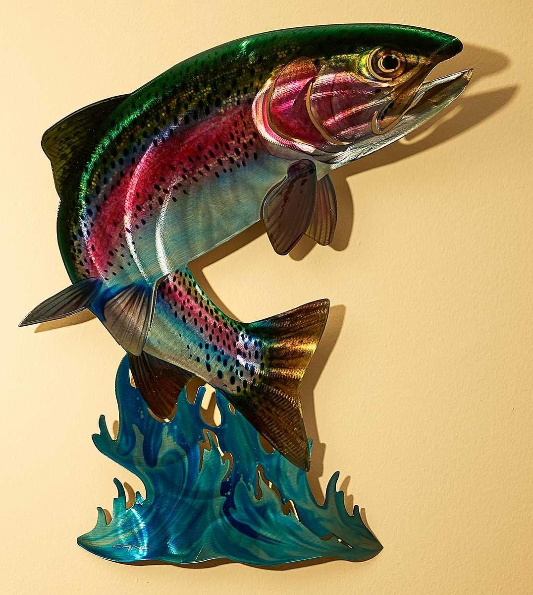 Trout Metal Wall Art | Wild Wings | my trout | Pinterest | Trout and ...