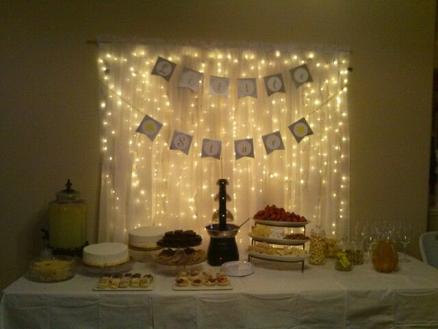Baby Shower Girl Themes 2014 ~ Twinkle twinkle little star baby shower food and party