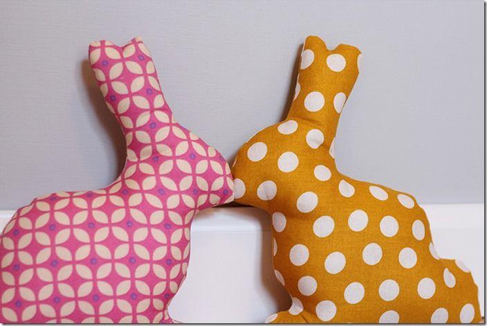 diy / Ostern: Osterhasen nähen   Softies, Bunny and Easter