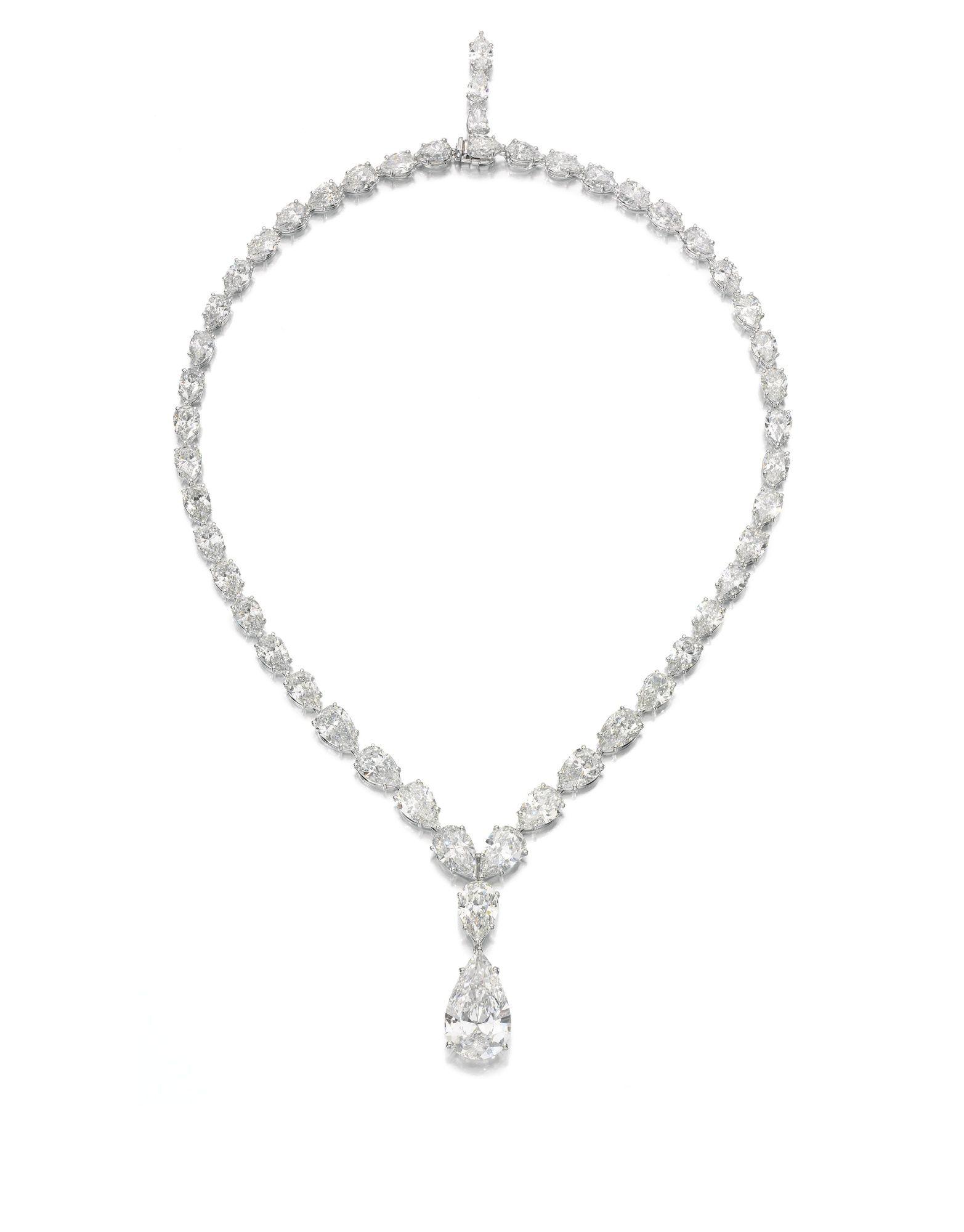 Important And Fine Diamond Necklace Graff Lot Sotheby S Real Diamond Necklace Diamond Necklace Graff Diamonds