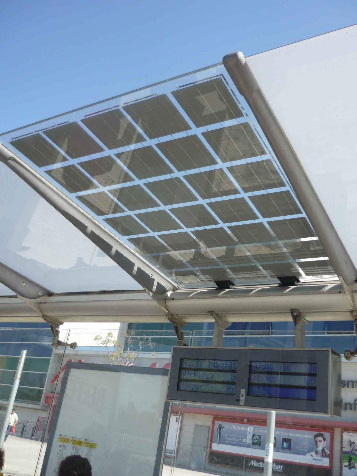 Vidurglass Photovoltaic Safety Glazing In Pergolas Canopies Or