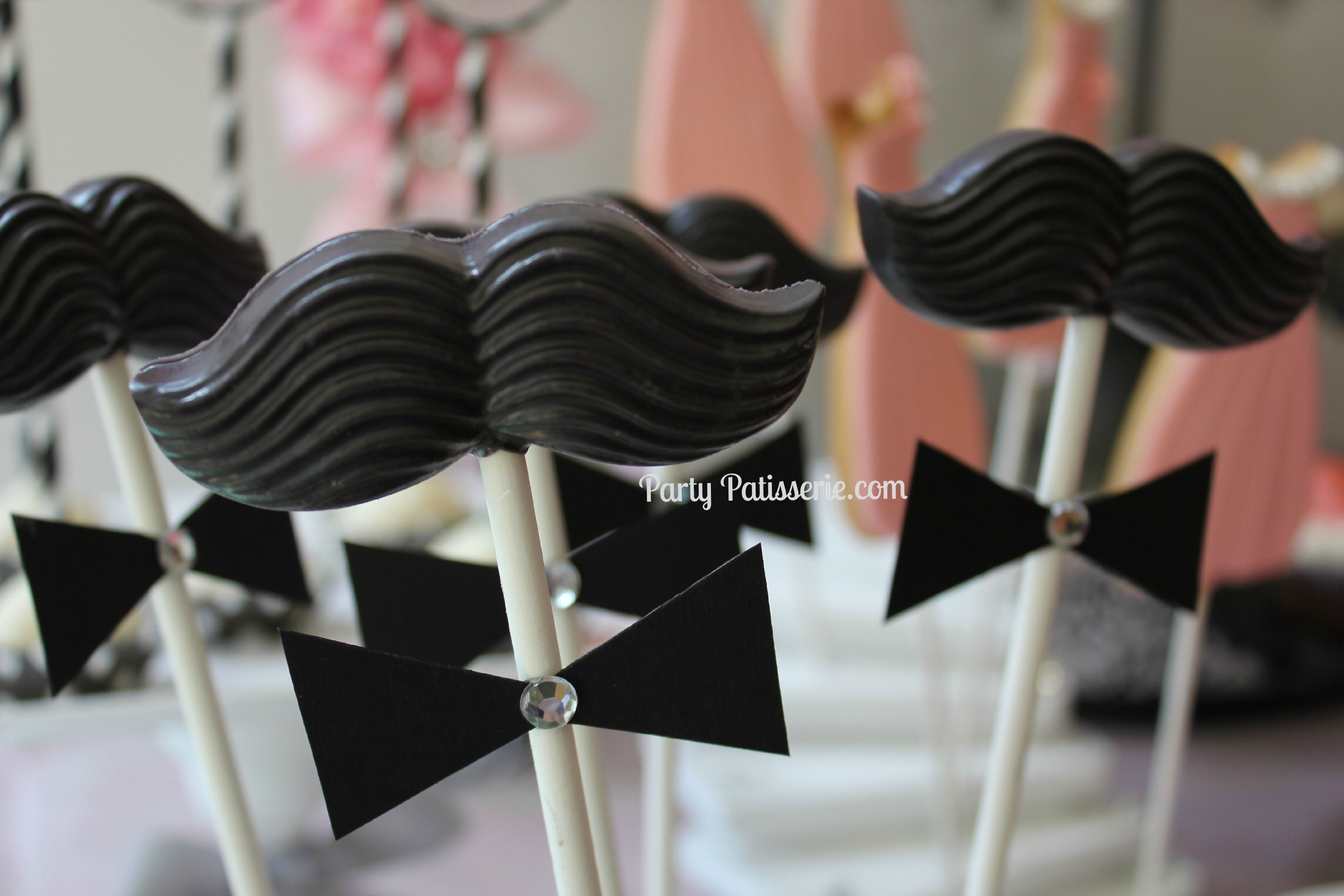 Perfect for gentlemen of all ages! Mustache pops are a fun ...