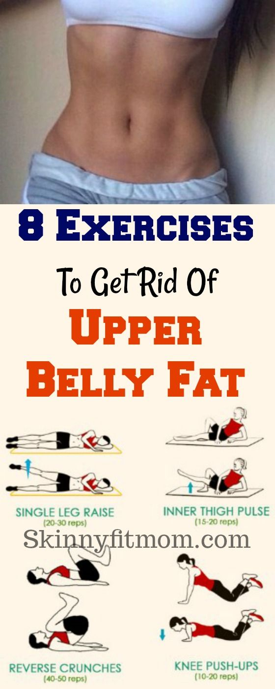 8 Best Exercises to Burn Upper Belly Fat | Exercises, Fat ...