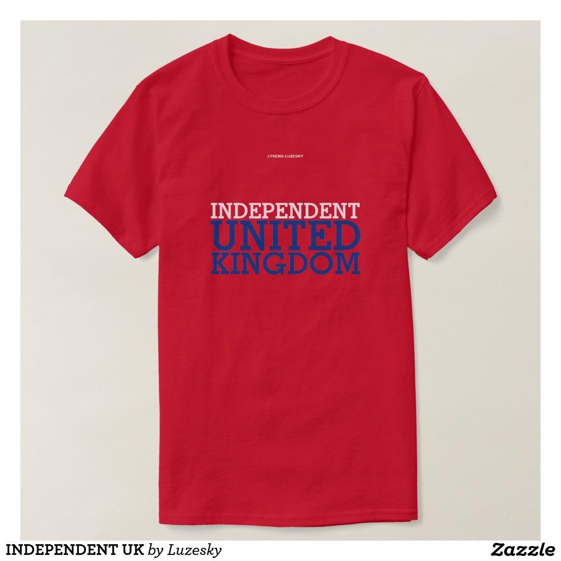 Independent uk tshirt customizable shirts