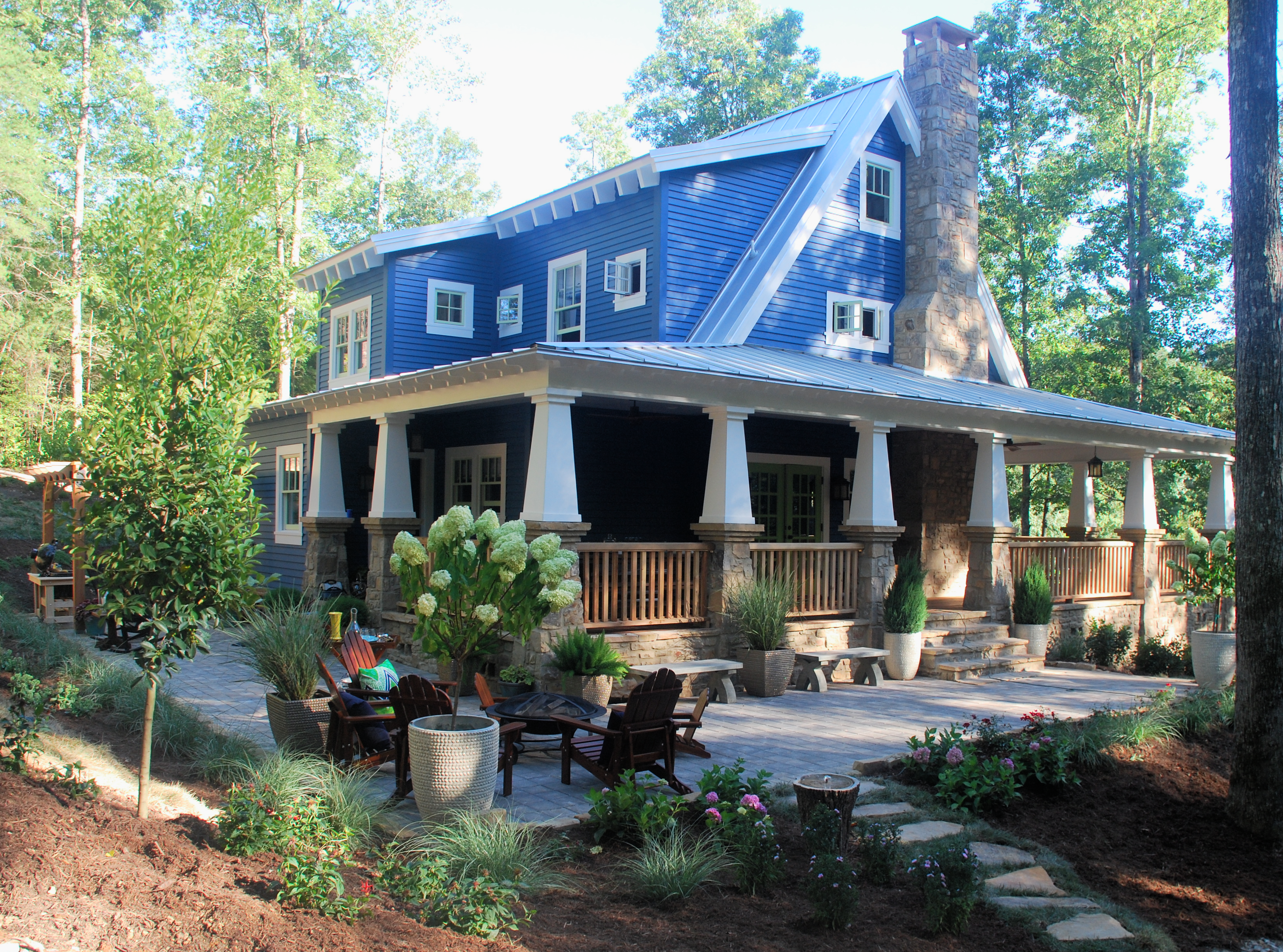 Toh Idea House 2015 Craftsman Style Homes Craftsman House Craftsman Cottage