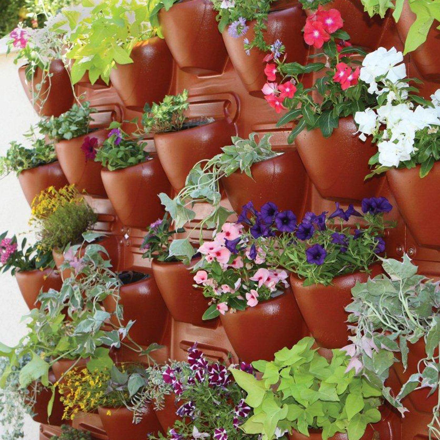 Shop Palram HG2100 PlantScape Terra Vertical Garden At ATG