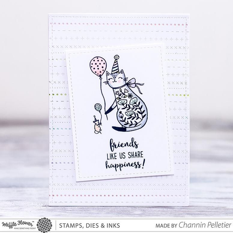 7 Skeins Floss Bobbin Die Hello Cards Paper Cards Stamp