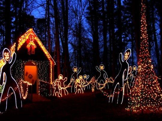 d1eb792da36e26ee3d431f51061efd76 - Garvan Gardens Hot Springs Christmas Lights