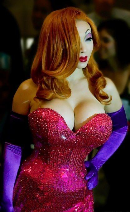 Jessica Rabbit in real life =) | Cosplay and Costumes ...