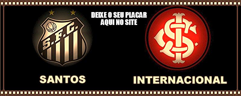 Santos joga neste domingo contra o Internacional, em busca do G4, deixe o seu placar aqui... http://futebolcomarte.wix.com/santos-futebol-arte#!seu-placar-para-santos-x-internacional/c1g49…