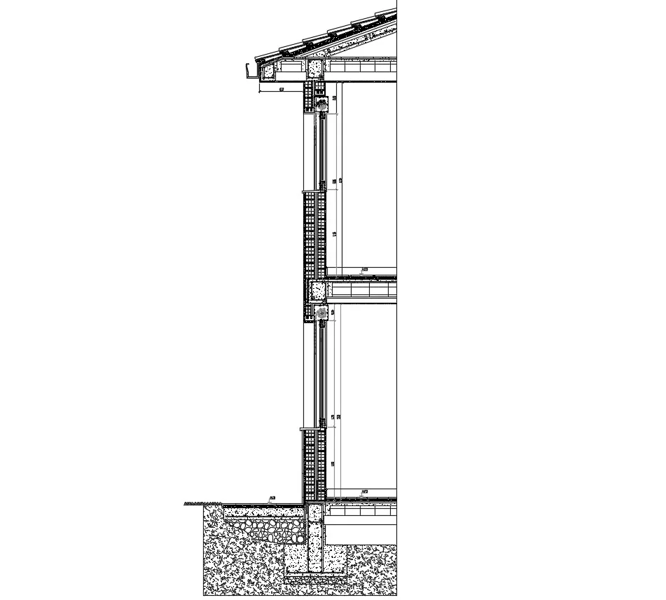 Typical Wall Section Detail Dwg File Wall Section Detail Architectural Technician Wall