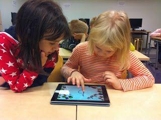 Ekaluokkaiset ja tietotekniikka: Ekaluokkalaiset ja iPadit