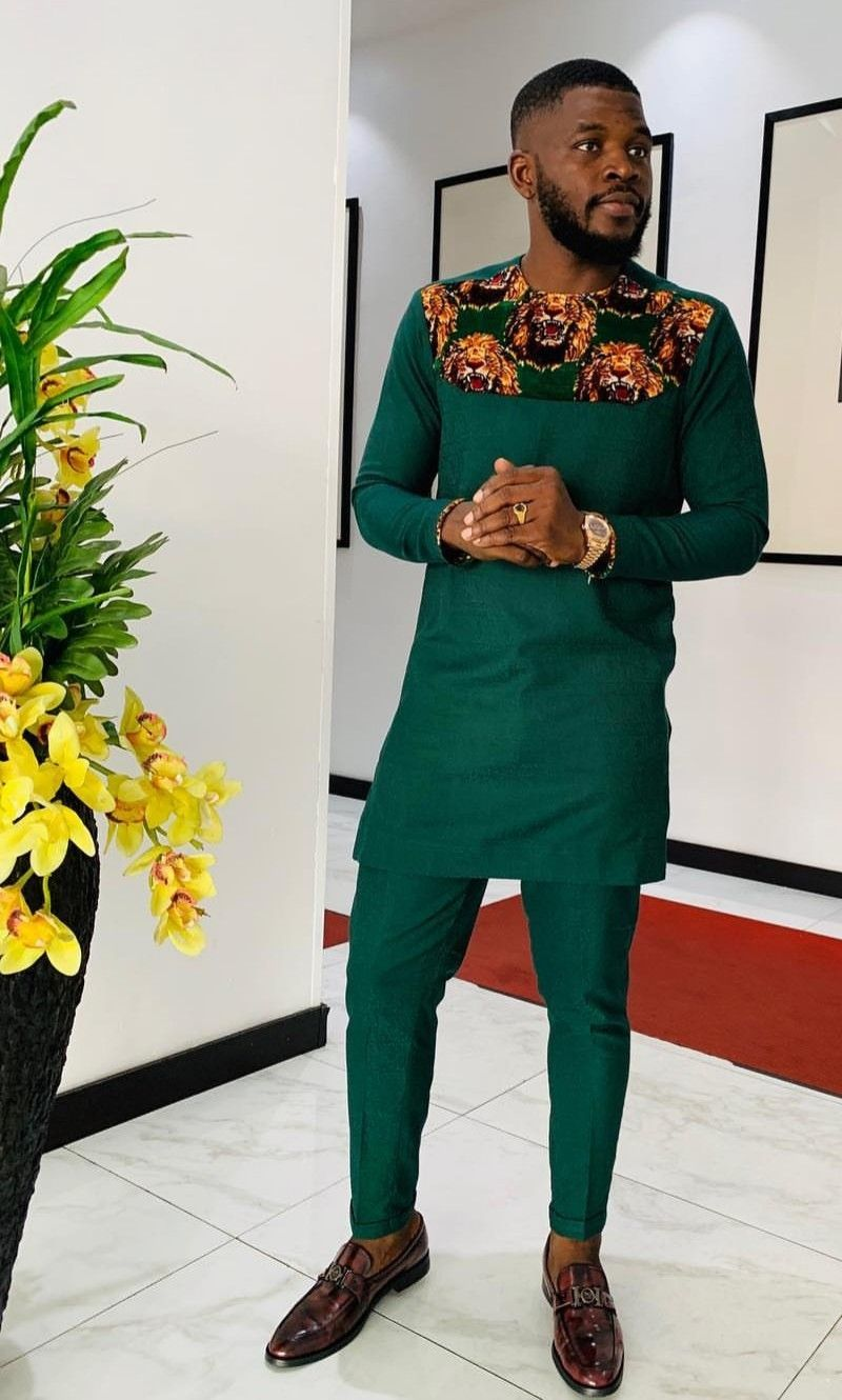 Pin by Nik Woodson on Men's Fashion | African dresses men, African men  fashion, African shirts for men