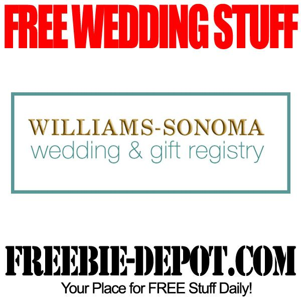 free wedding stuff williams sonoma wedding freebie gifts free wedding stuff williams sonoma wedding freebie gifts junglespirit Gallery